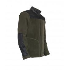 """Флисовая куртка """"ELF"""" хаки + чёрный 280г/м2"""