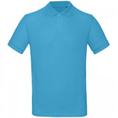 Рубашка поло мужская Inspire, бирюзовая
