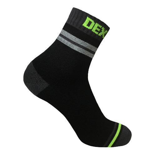 Водонепроницаемые носки DexShell Pro visibility Cycling Серая полоска
