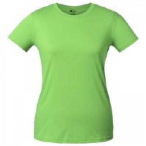 Футболка женская T-bolka Lady, зеленое яблоко