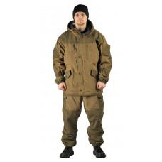 """Костюм демисезонный """"ГОРКА"""" куртка/брюки, цвет: св.хаки/т.хаки, ткань: Полибрезент"""