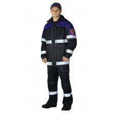 """Костюм """"ZEGERA-НЕФТЕЗАЩИТА-2"""" куртка/полукомб. цвет:т.синий/василек"""