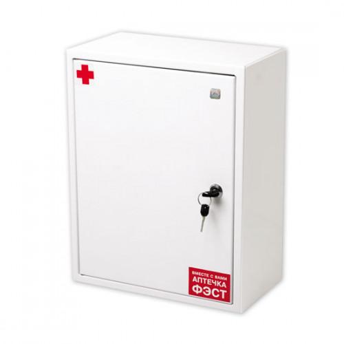 Аптечка первой помощи работникам (приказ №169н от 05.03.11) металл.шкаф