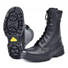 """Ботинки ЭСО с высоким берцем """"Витязь"""" арт.65М на искусственном меху"""