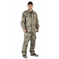 "Костюм ""ЗАХВАТ"" куртка/брюки, цвет: кмф ""Цифра св.серый"", ткань: Грета"